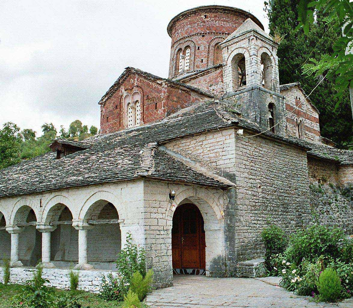Church of the Dormition of the Theotokos in Labovë e Kryqit. The foundation of the Church dates back to the 6th century at the reign of Byzantine Emperor ...
