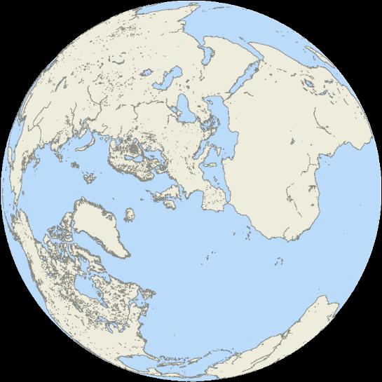 Географическая Карта Восточного Полушария