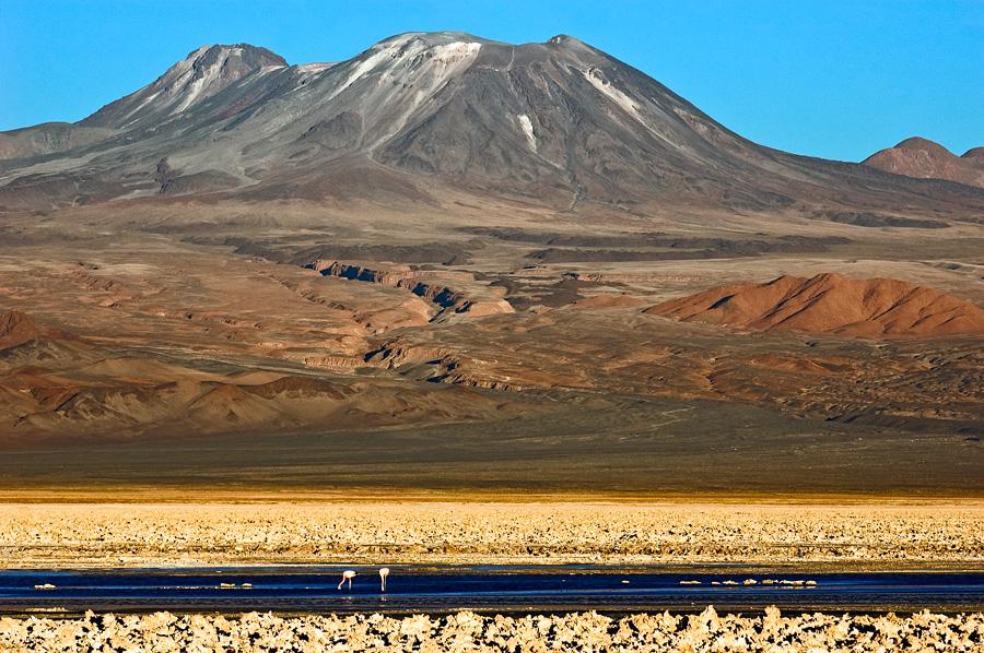 Gunung Lascar di Chili