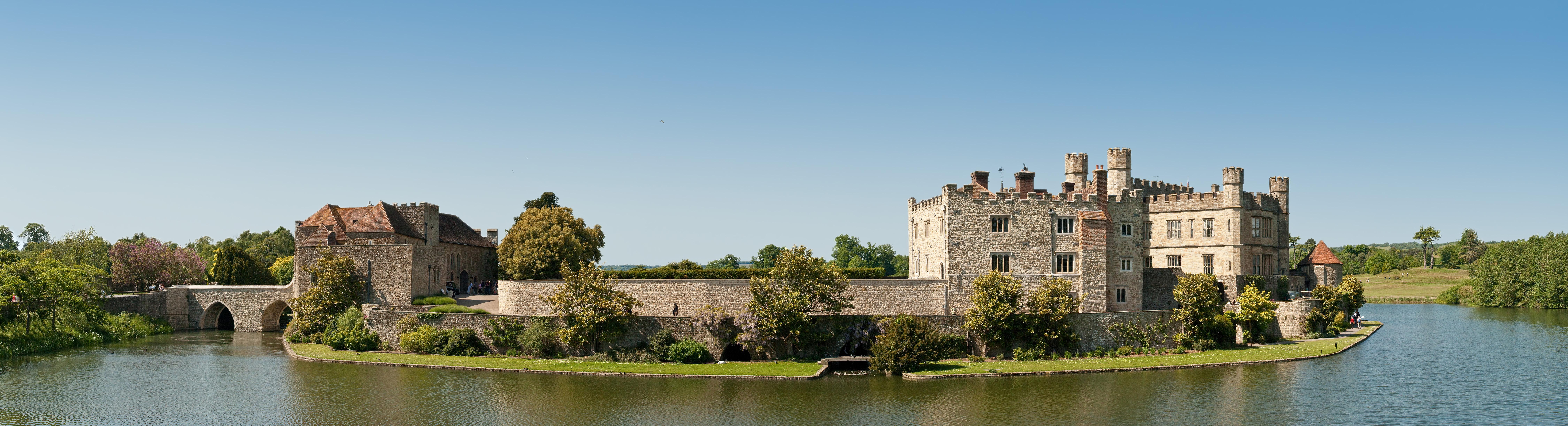 Description leeds castle kent england 3 may 09
