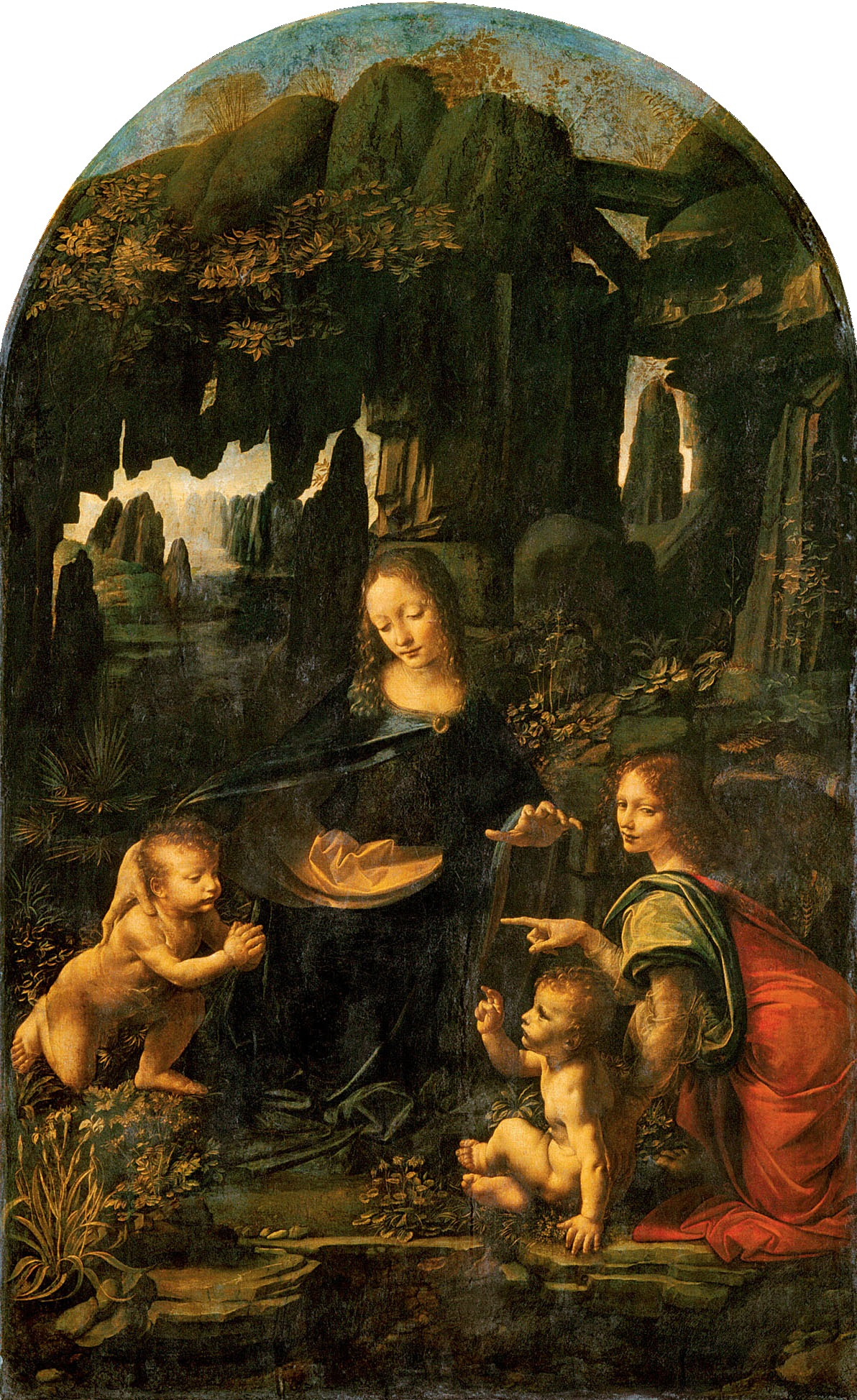 "an analysis of the virgin of the rocks by leonardo da vinci La scapigliata ""the head of a is a painting by the italian renaissance master leonardo da vinci near to the virgin of the rocks or the virgin and child."