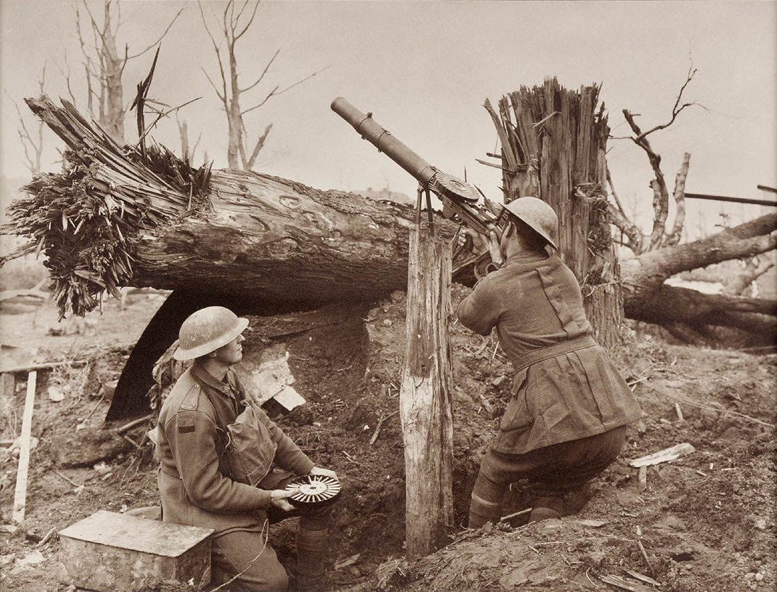 Australian Soldiers Firing at