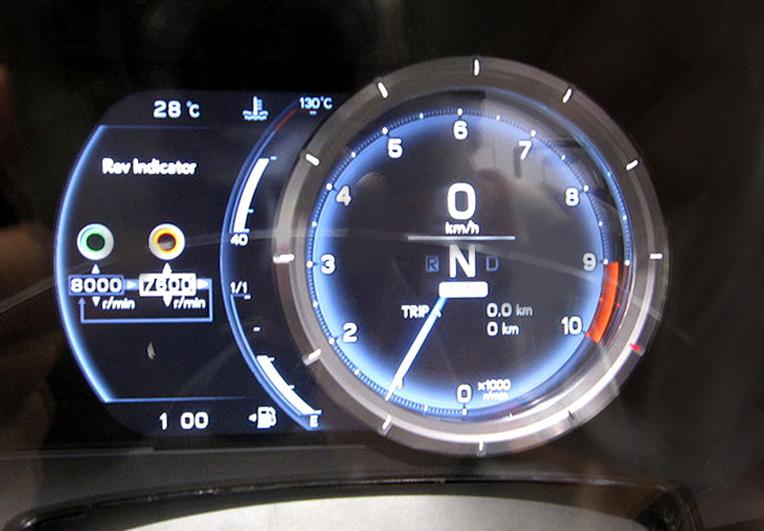 ��� ���� 2011 - ��� lfa 2011 - ��� ���� lfa 2011 Lexus_LFA_speedomete