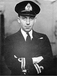Dick Raikes British naval officer