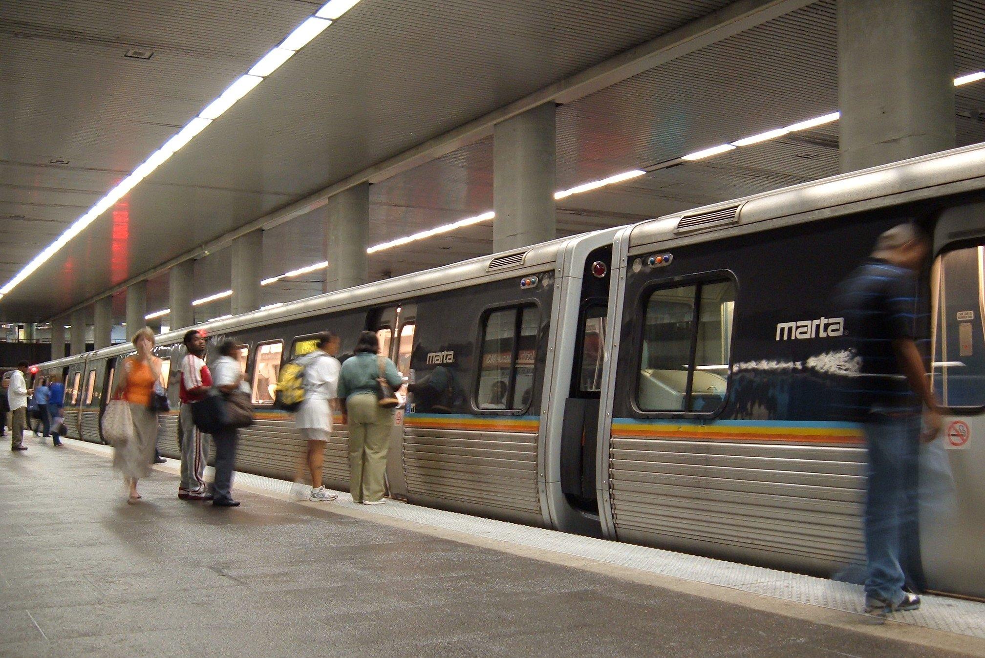 North Avenue station (MARTA) - Wikipedia