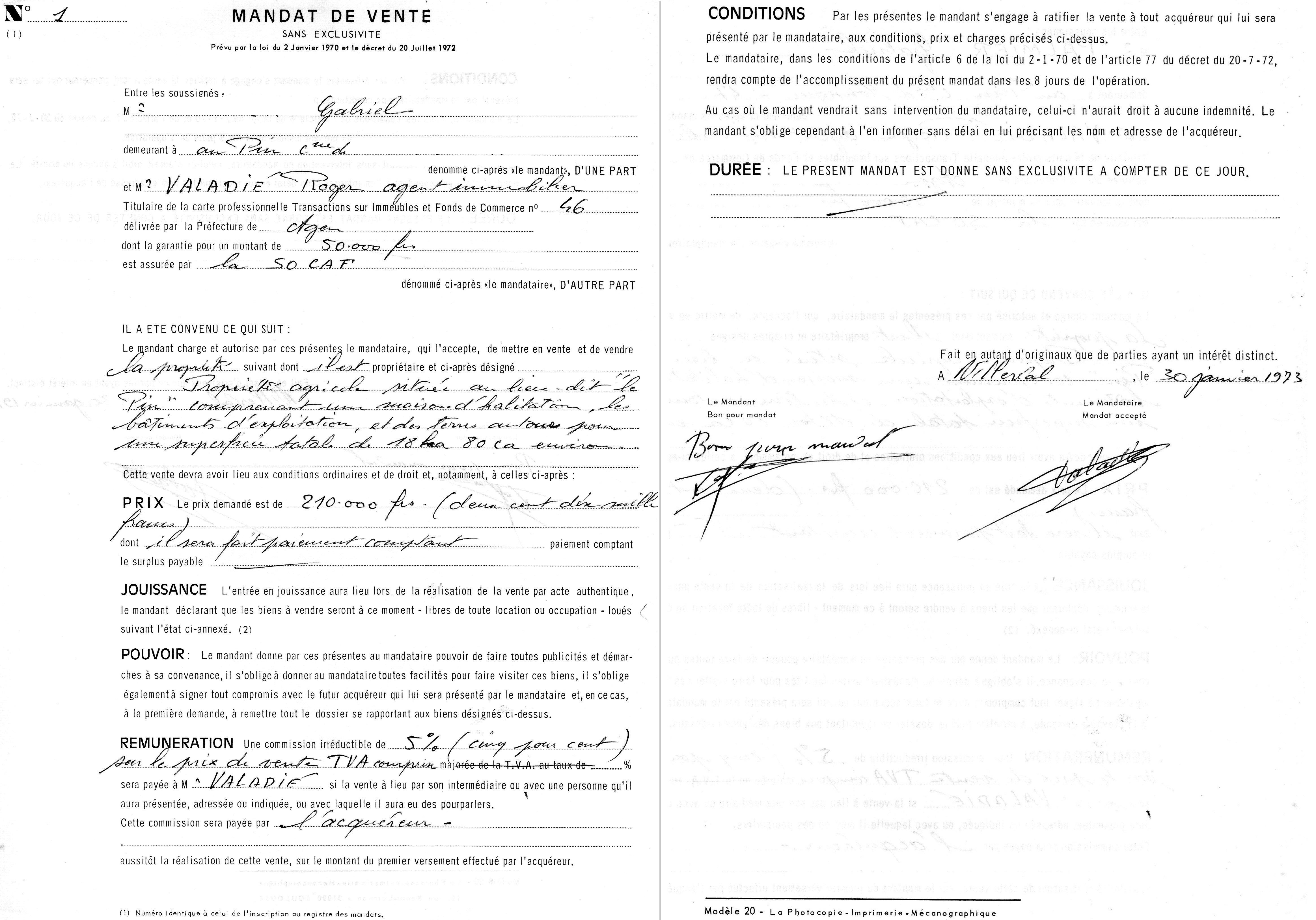 Fichier mandat de vente n 1 loi hoguet jpg wikip dia - Cession des biens de l etat ...
