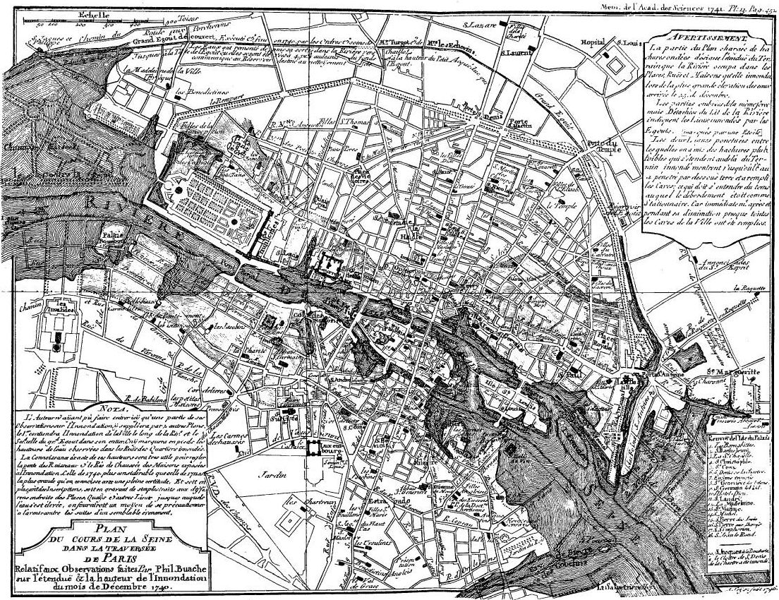 File:Map of 1740 Flood of Paris.jpg
