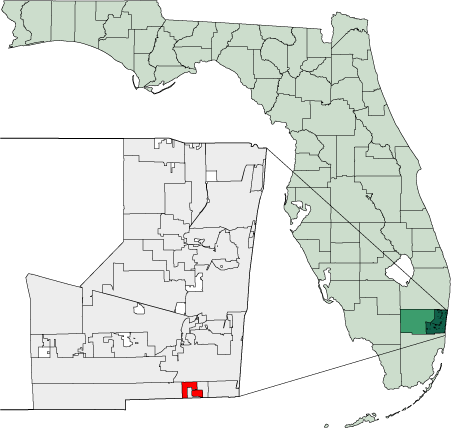 File Map Of Florida Highlighting West Park Png Wikimedia Commons