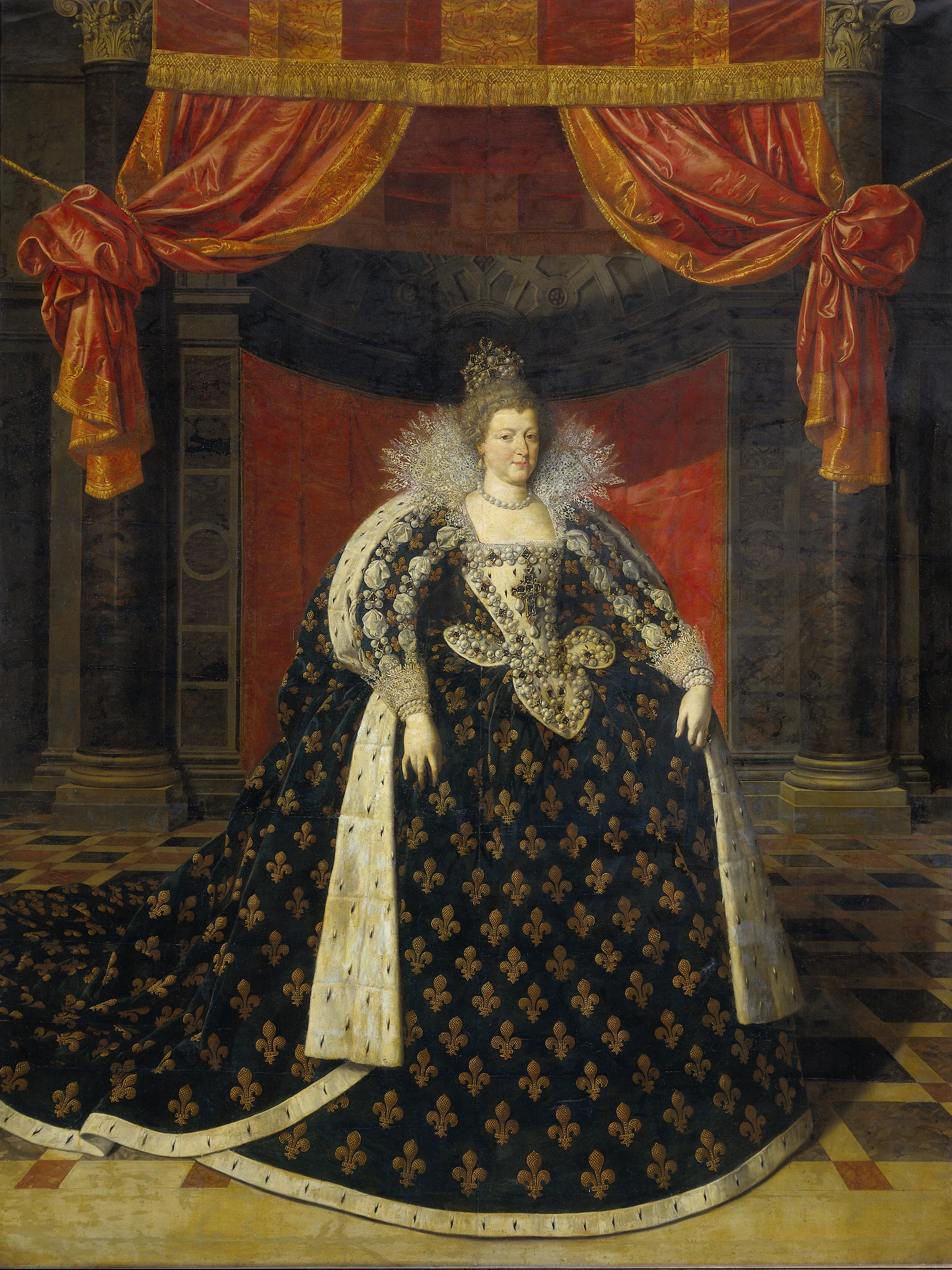 Король франции генрих и мария медичи