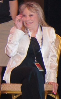 Marilyn Burns in 2012 tijdens TCM panel