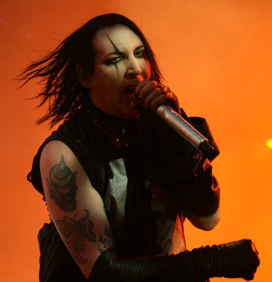 Portrait of Marilyn Manson
