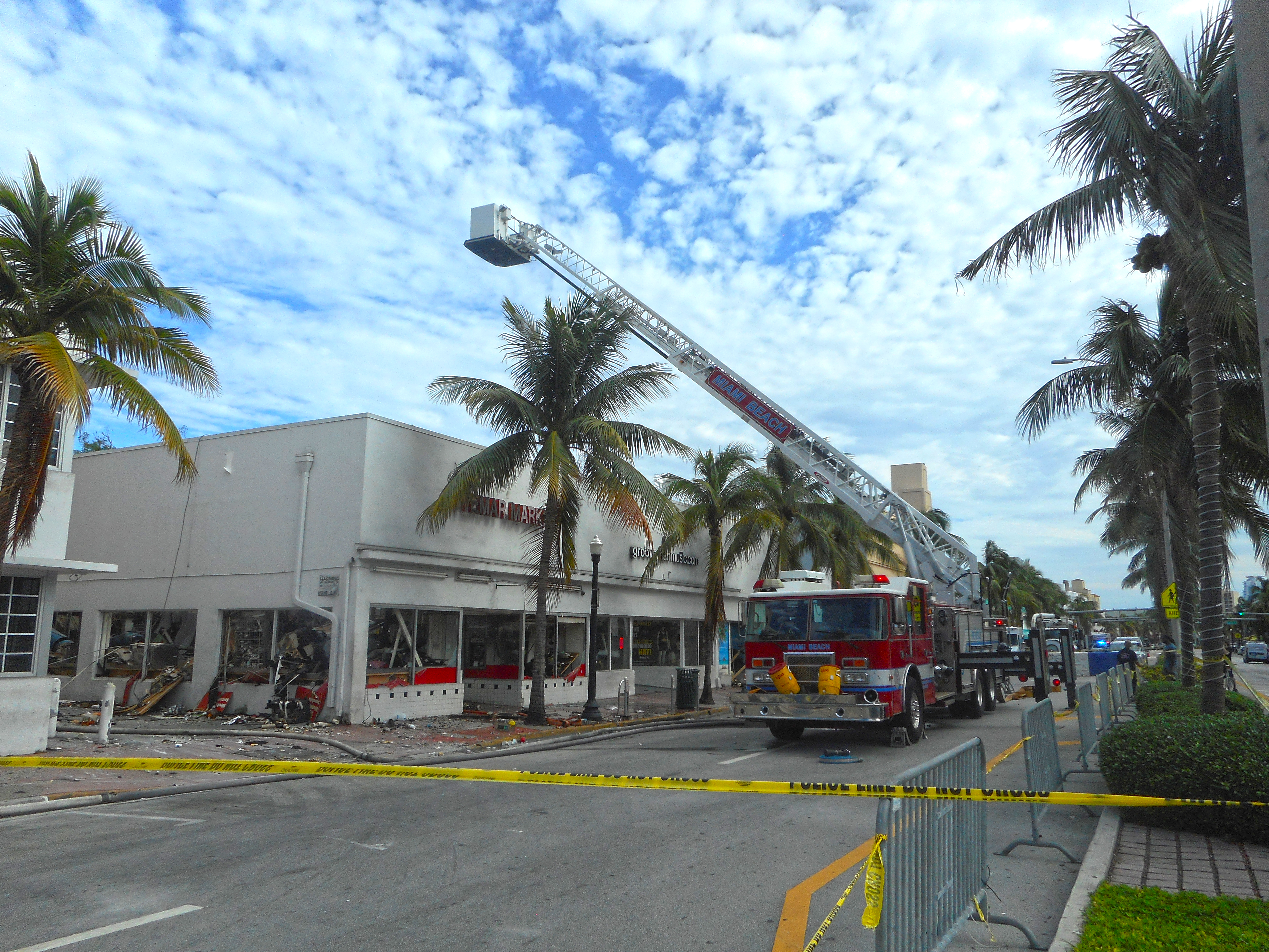 File Miami Beach South Vemar Market Fire Washington Avenue And 16th Street