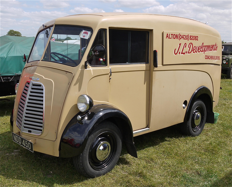 File Morris J Type Van 1952 Flickr Mick Lumix Jpg