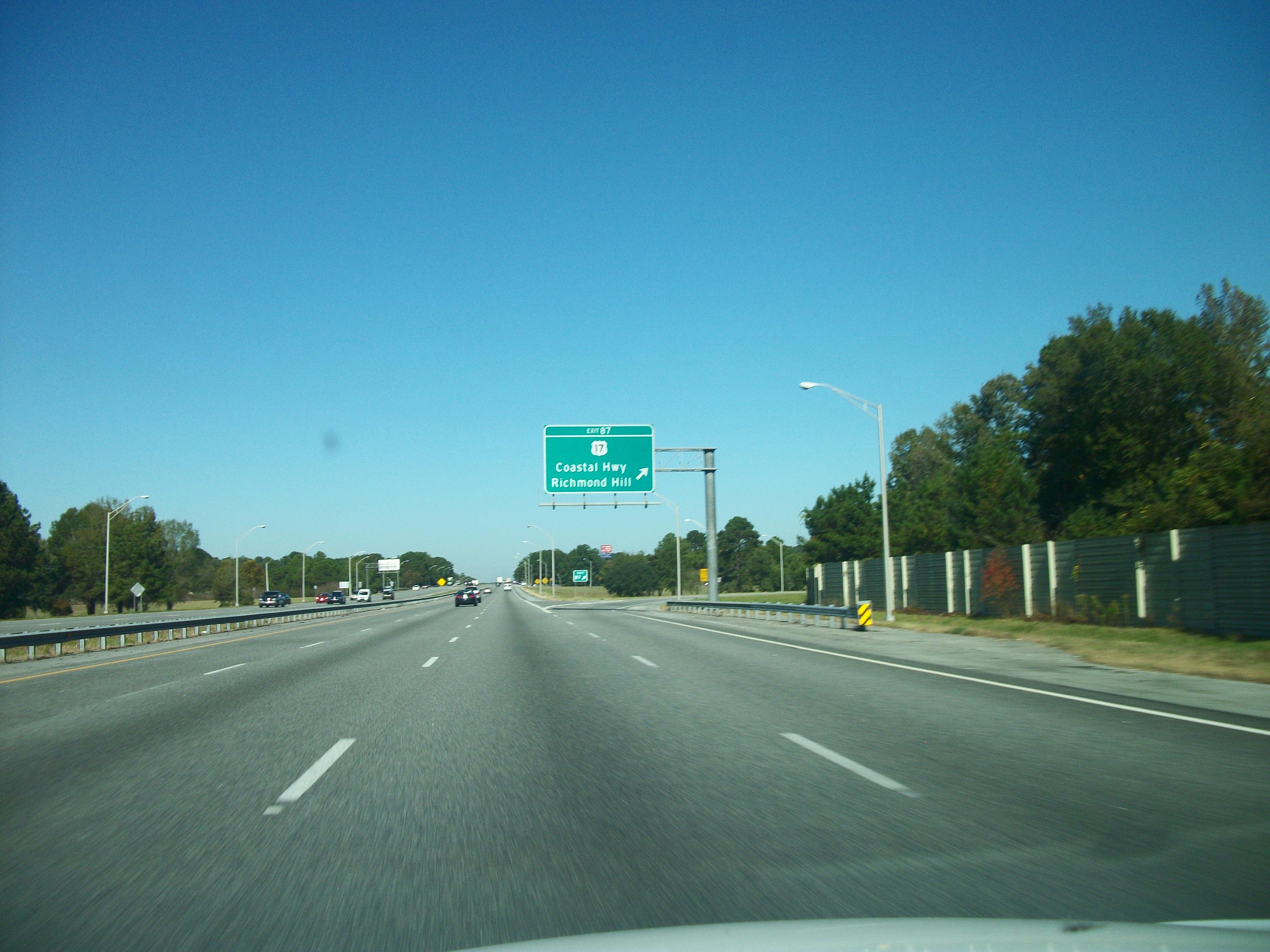 File:NB I-95 @ Exit 87...I 95 Exit 29