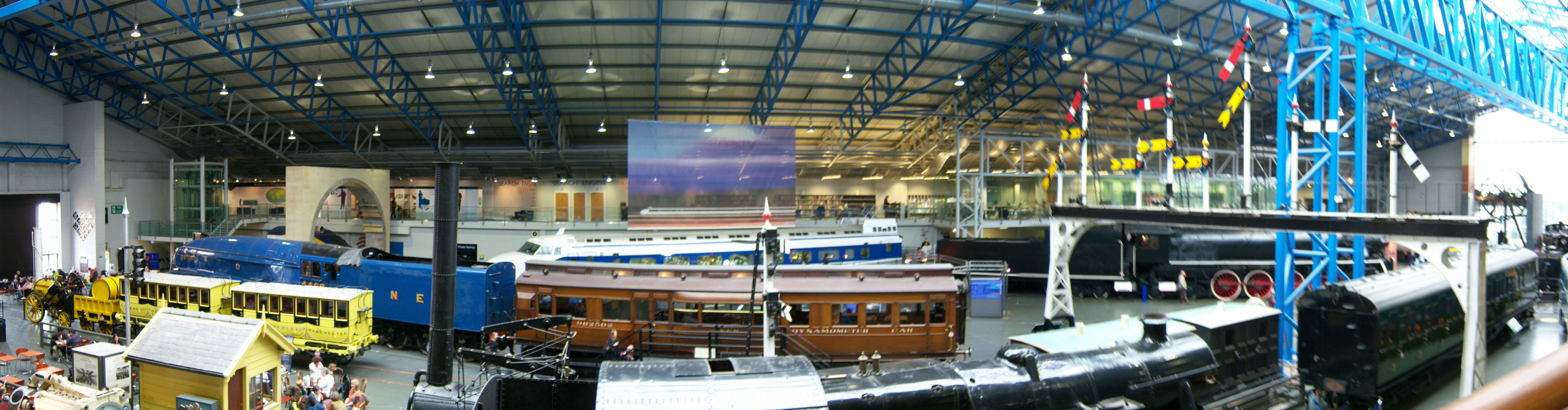 File:National Railway Museum York 15 March 2009 Great Hall ...