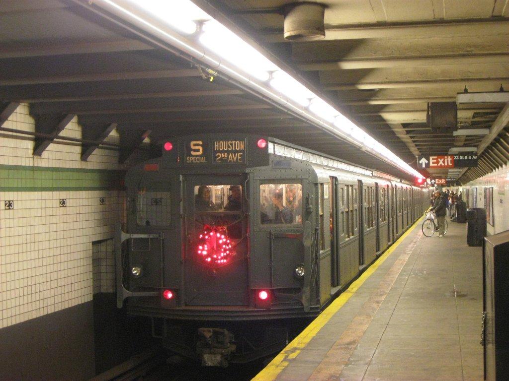 Description new york city subway acf r6 car 1000