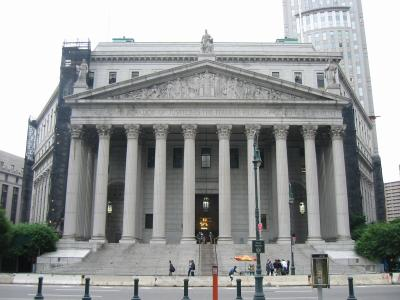New York Supreme Court at 60 Centre Street THE SUING CONTINUES, THIS TIME ITS DEFAMATION