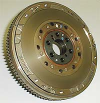 Modern automobile engine flywheel
