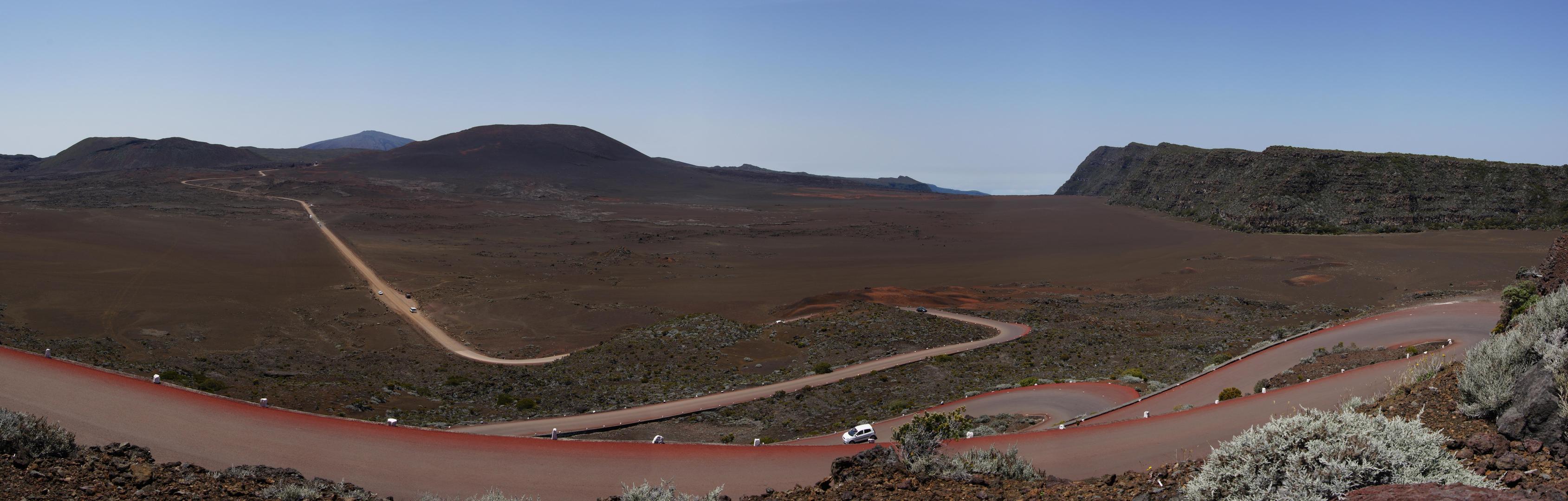 A voir lors de votre visite à l'île de la Réunion - la Plaine des Sables