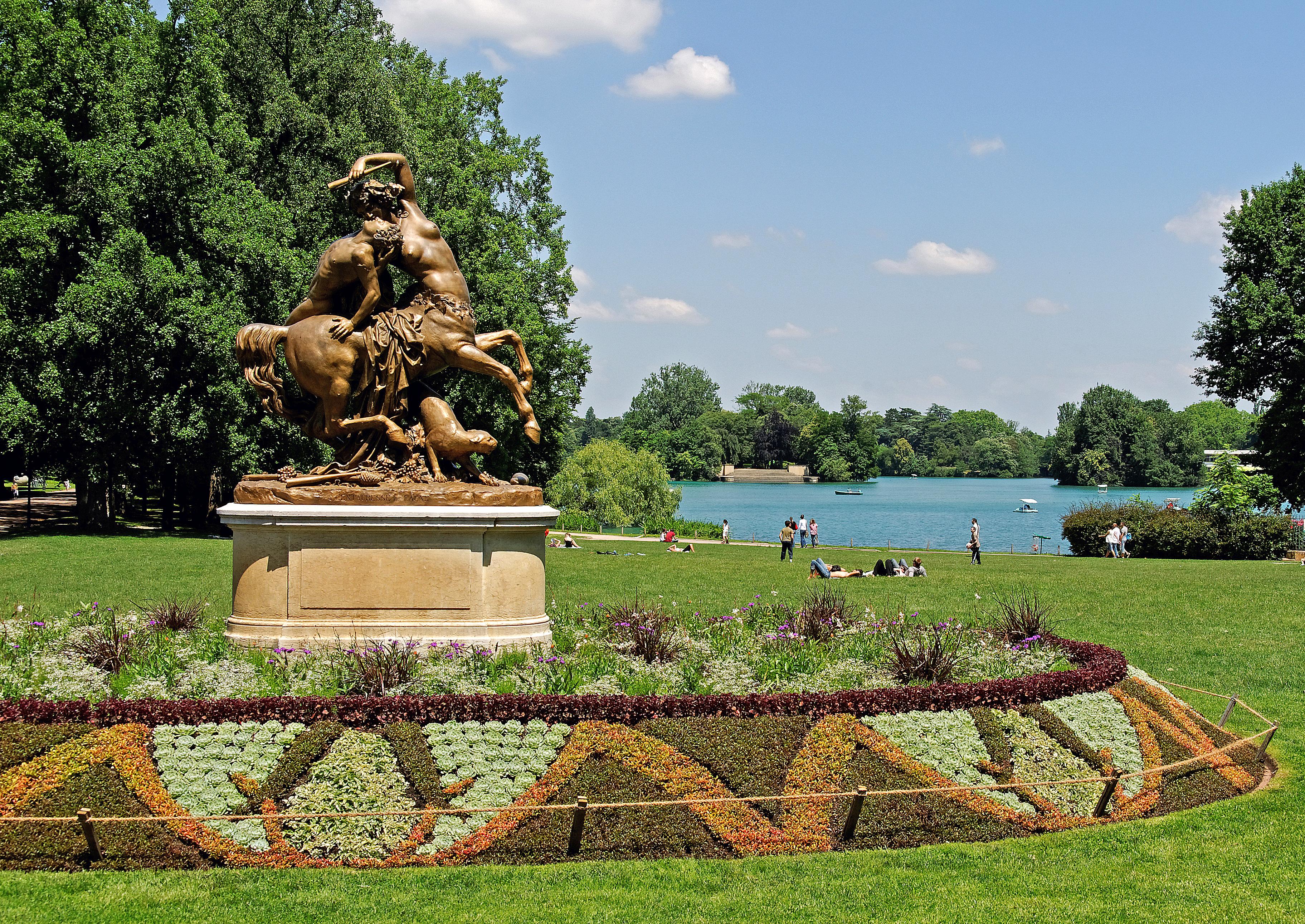File Parc De La Tête D Or Vue Sur Le Lac7 Jpg Wikimedia Commons