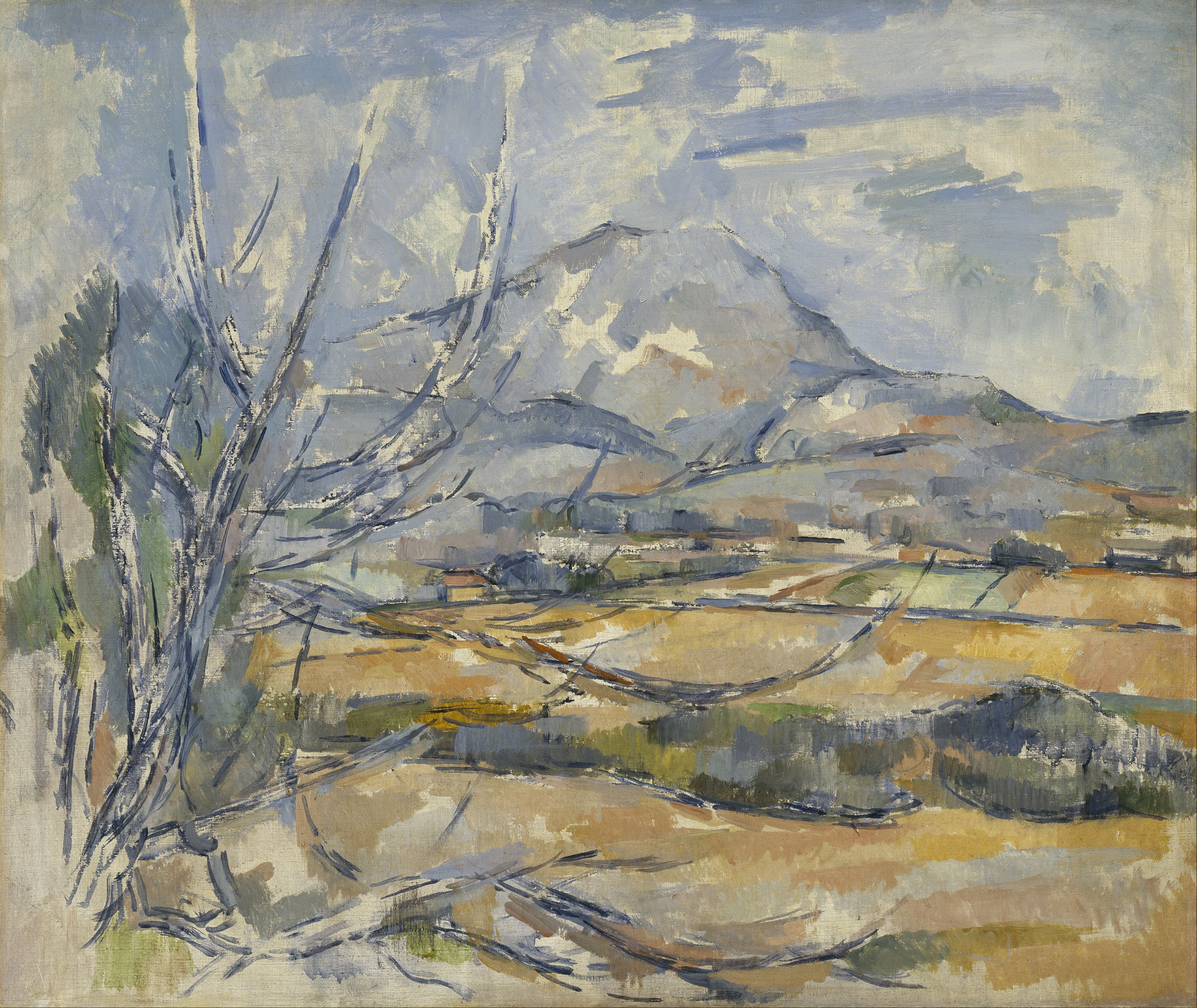 Файл:Paul Cezanne - Montagne Sainte-Victoire - Google Art Project.jpg