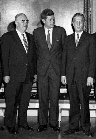 File Paul Schenck Jfk Jackson Betts At White House April