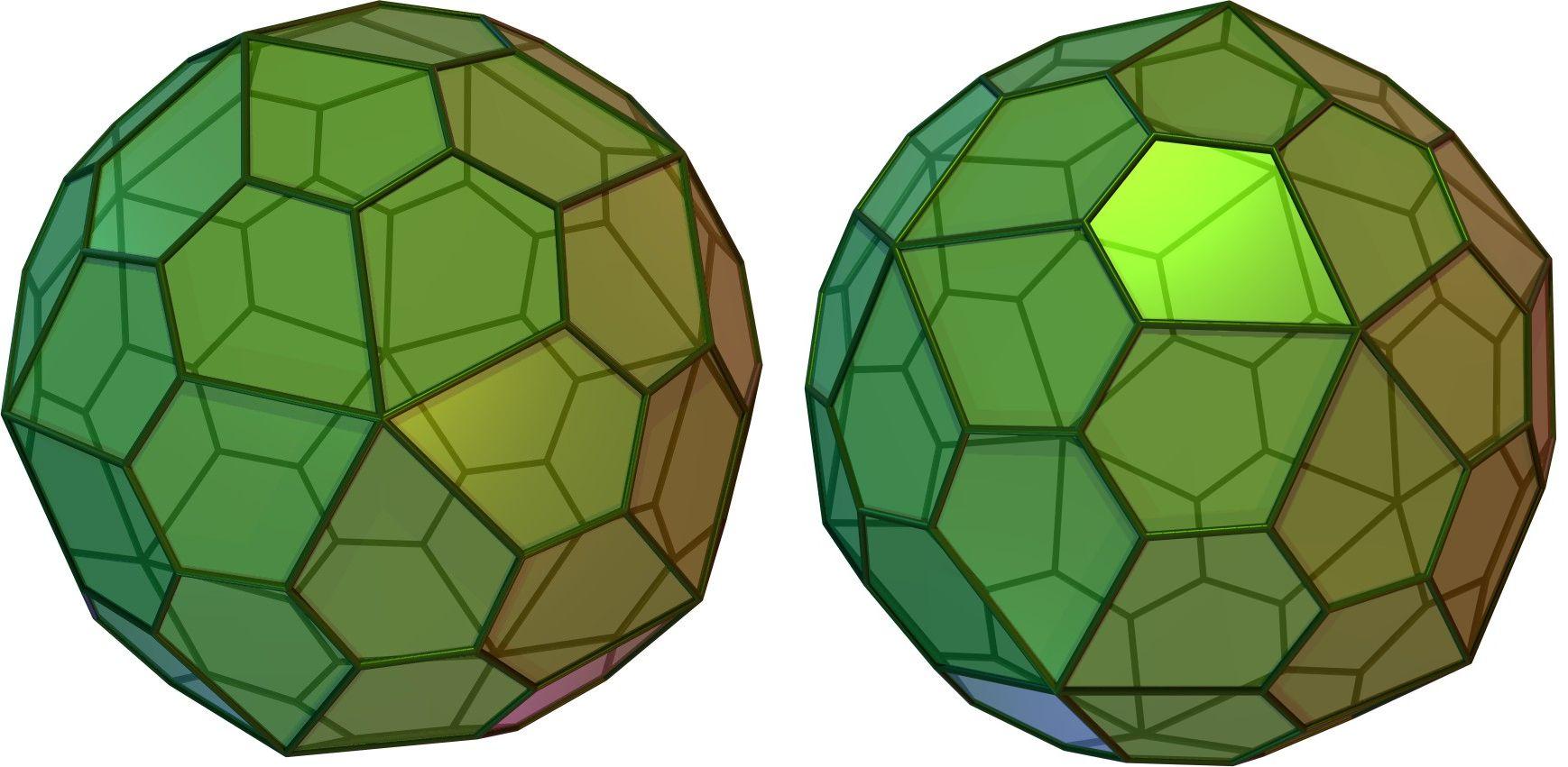 Pentagonal Hexecontahedron