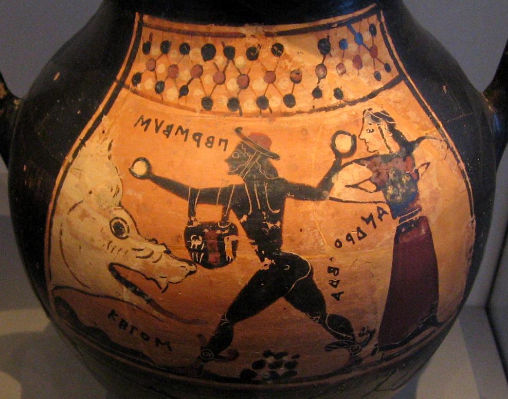 Perseus Severs The Head Of Medusa