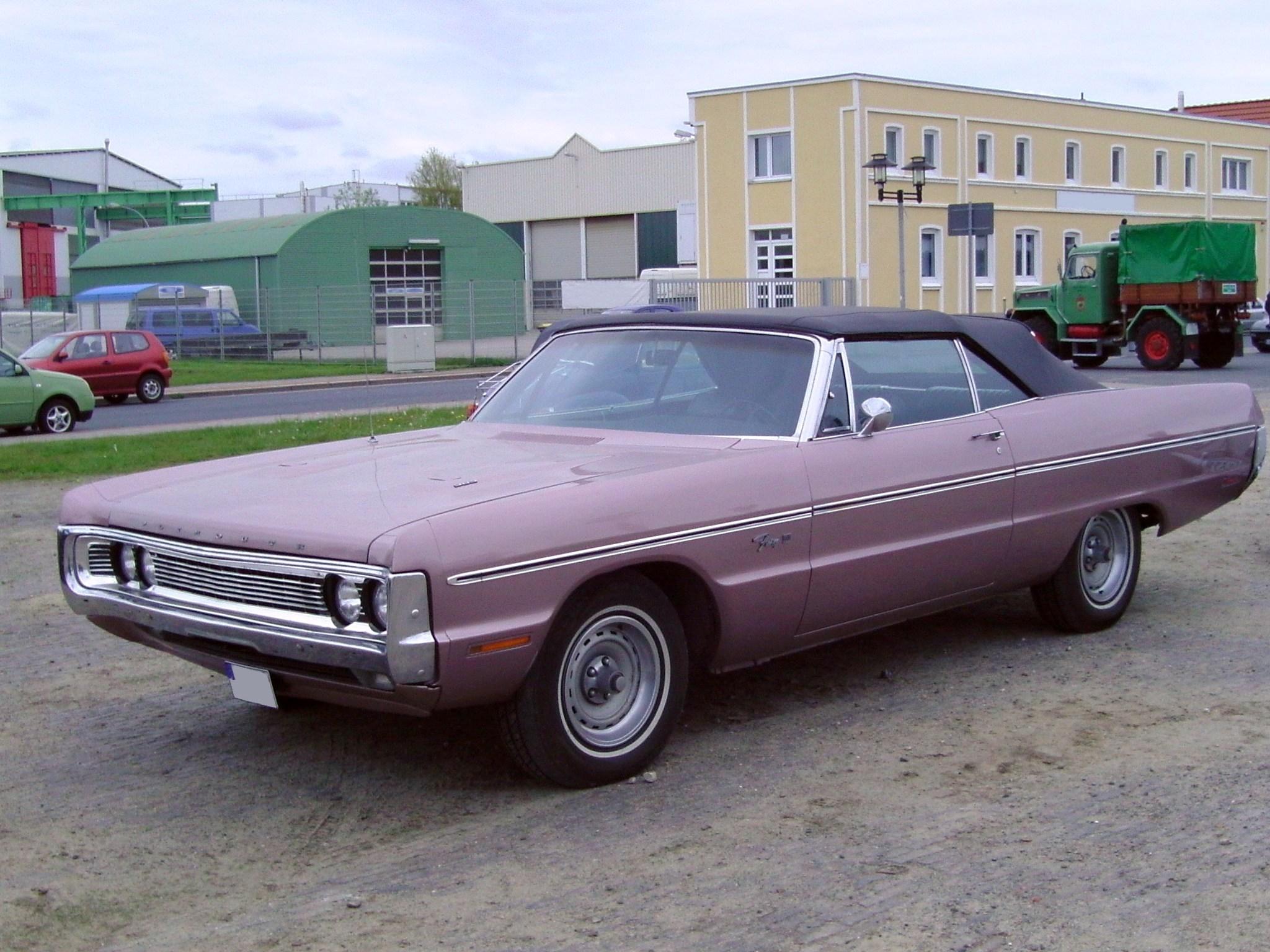 Plymouth Classic Cars Foe Sale Needing Repair