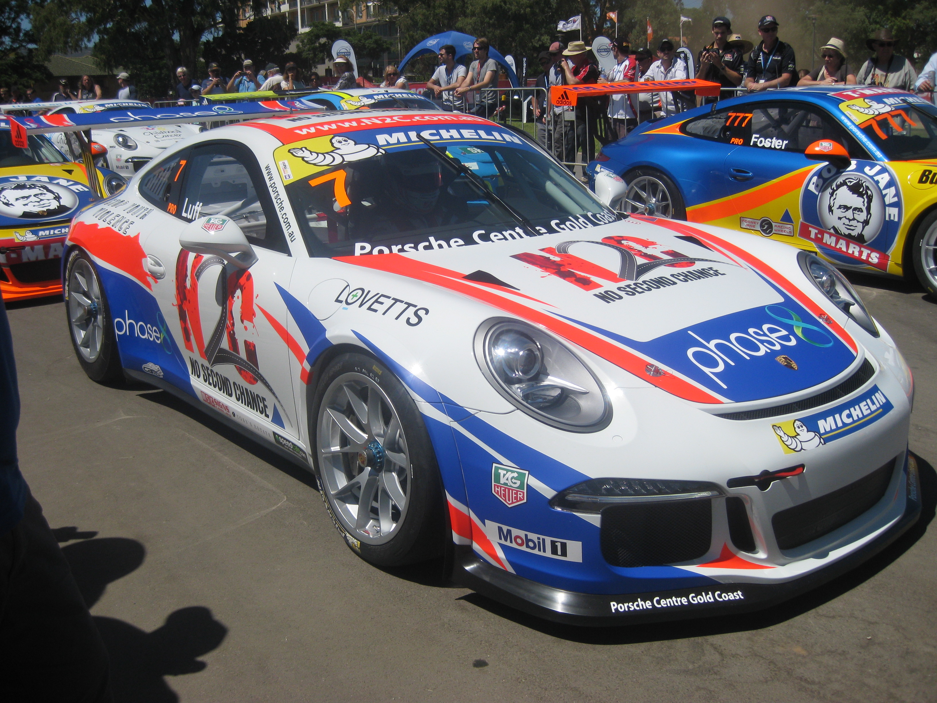 file porsche 911 gt3 cup type 991 of warren luff jpg wikimedia commons. Black Bedroom Furniture Sets. Home Design Ideas