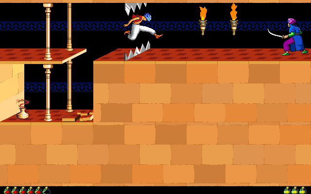 Prince of Persia 1 - Macintosh - Jump