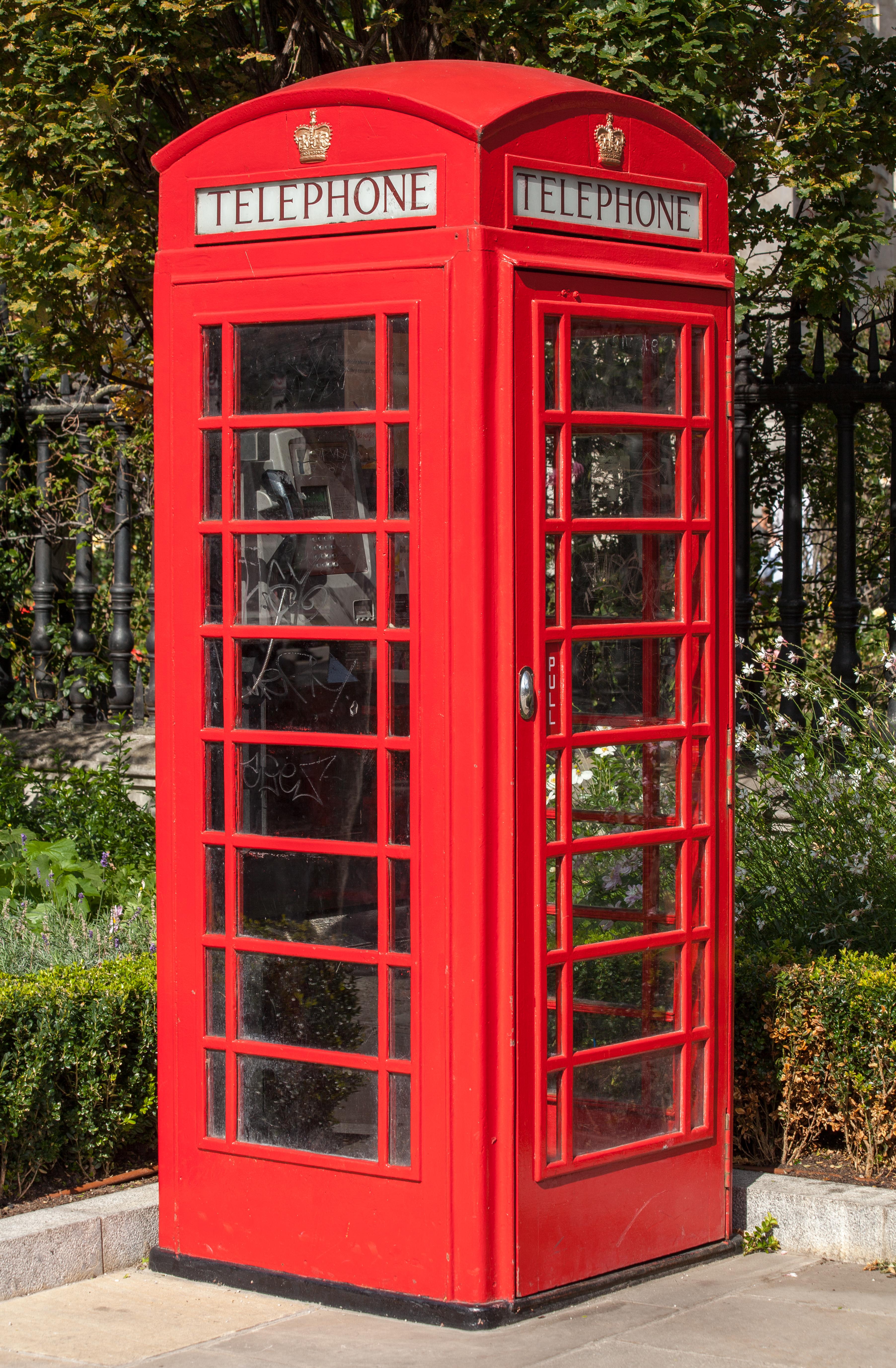 Amazing Red Telephone Box Wikipedia Download Free Architecture Designs Scobabritishbridgeorg