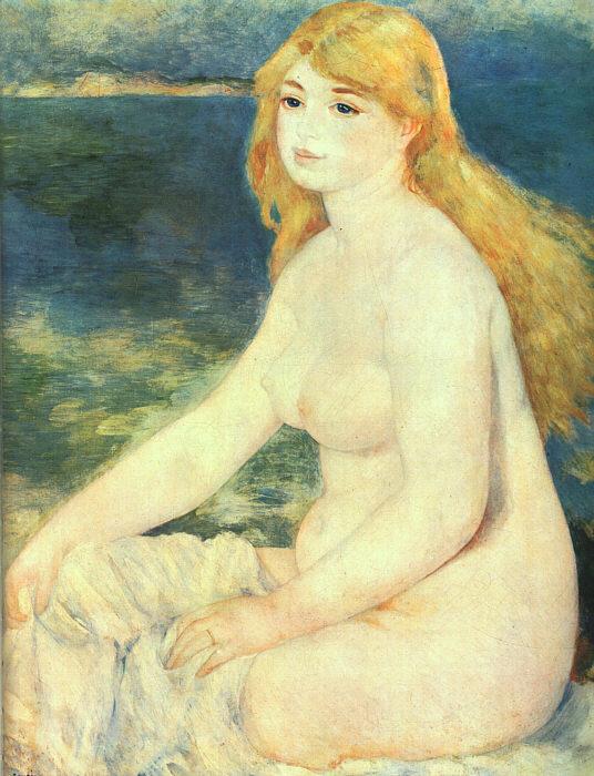 blonde bather wikipedia