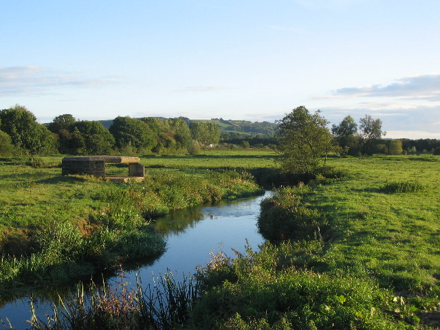 River Axe - geograph.org.uk - 55218