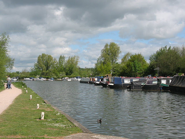 River Lea Navigation above Stanstead Lock - geograph.org.uk - 1330528