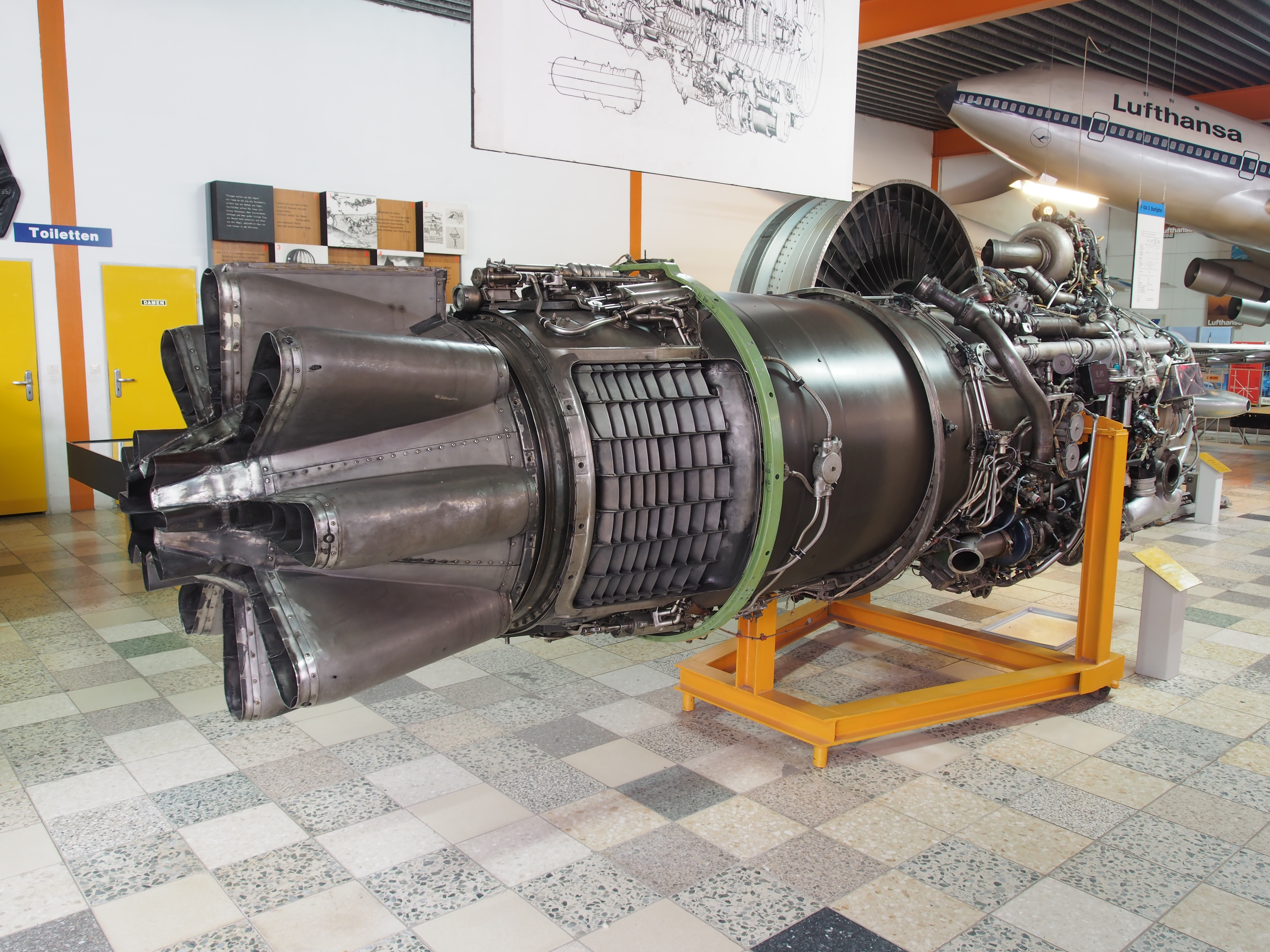LM6000 DLE bustion aeroderivative gas turbines