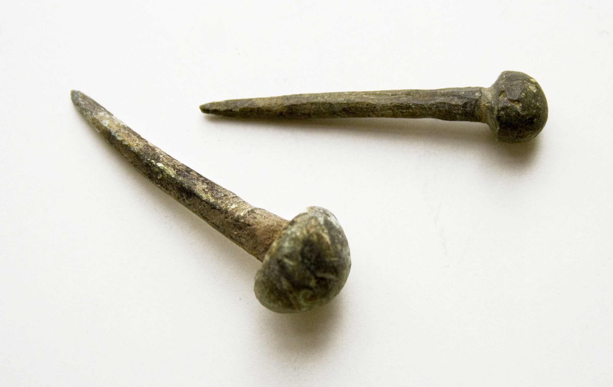 File:Roman era wrought iron nail - Province of Pannonia II. century ...
