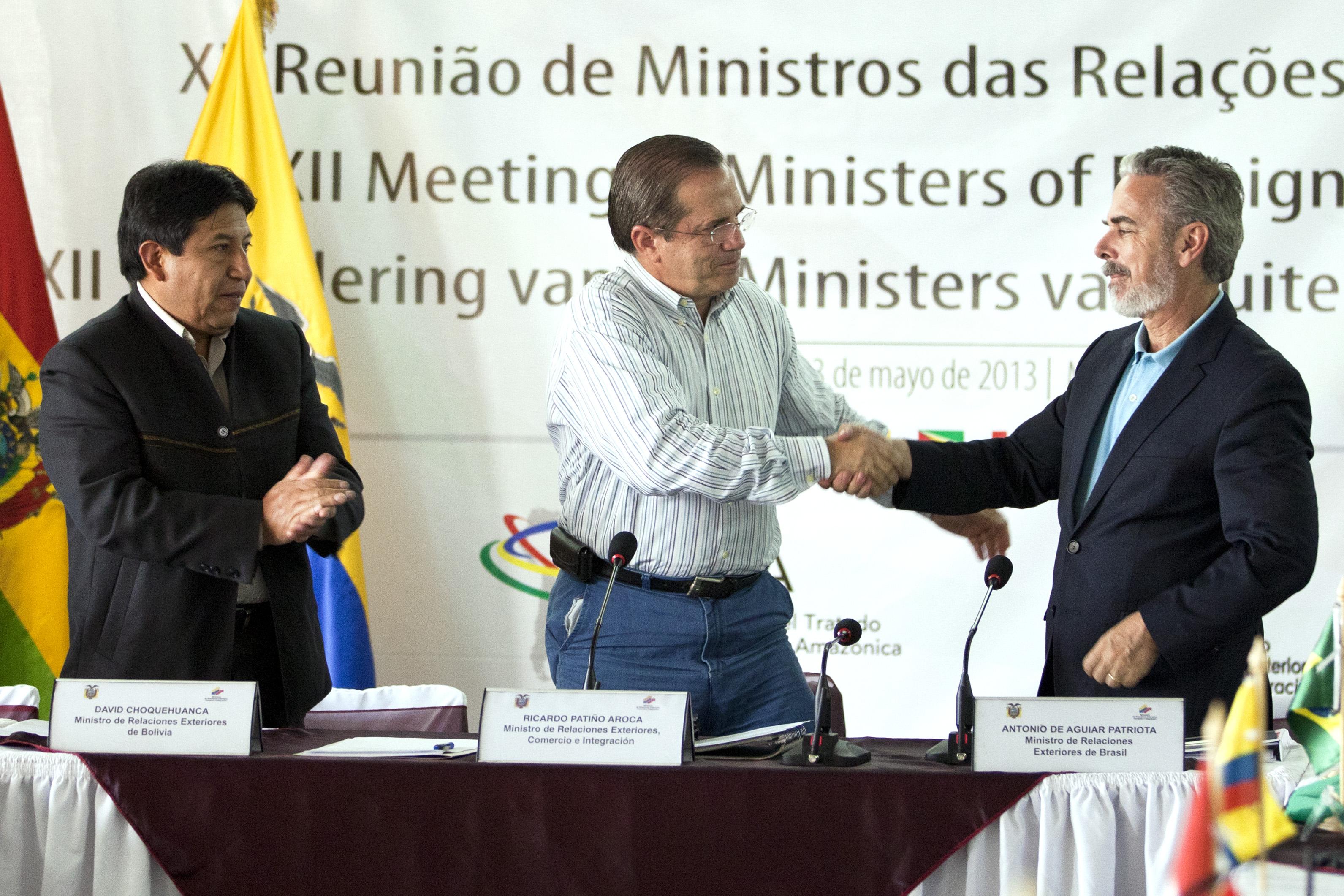 File:Rueda de Prensa sobre la reunión de los países miembros de la OTCA (