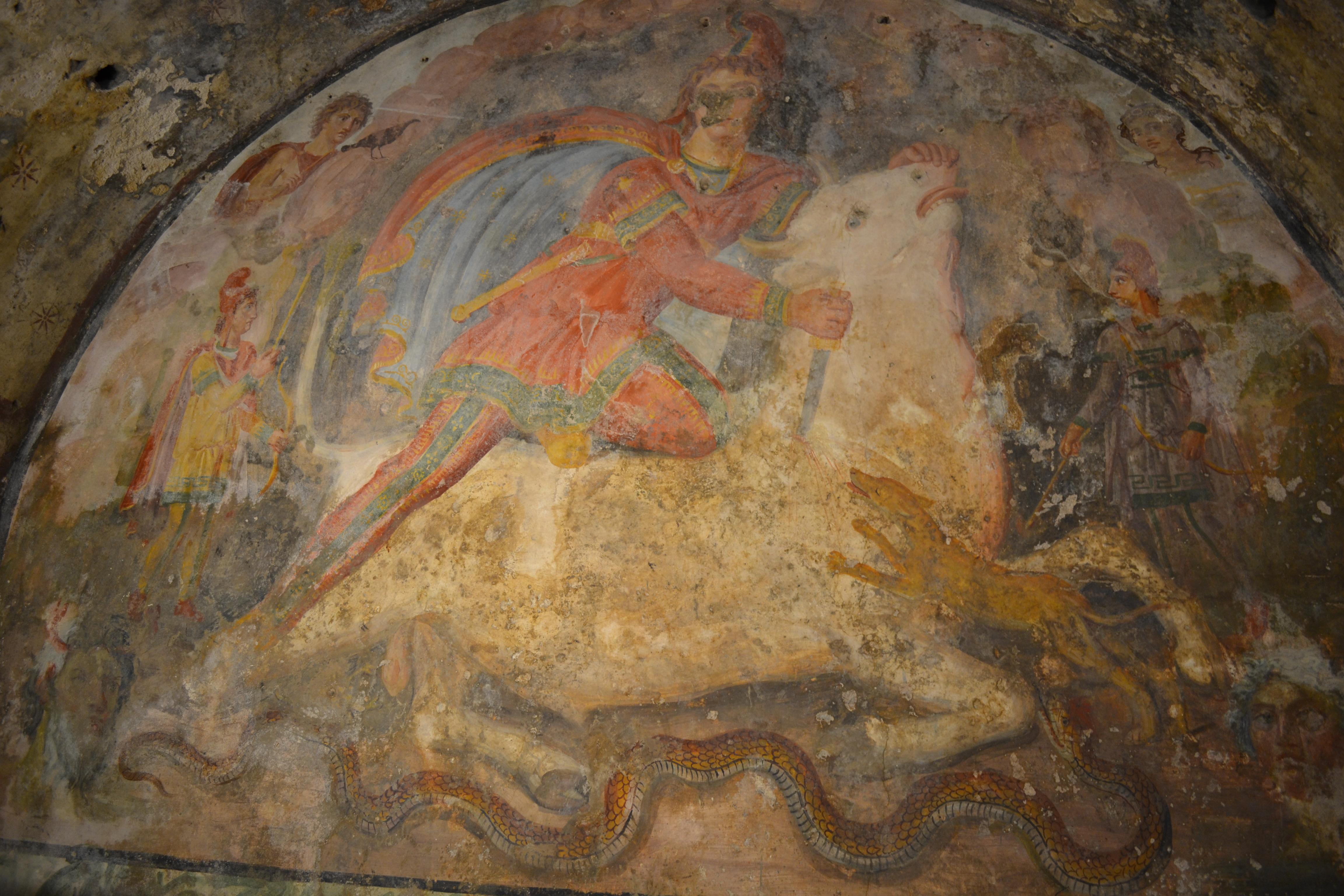 Tauroctony wiki everipedia - Piscina santa maria capua vetere ...