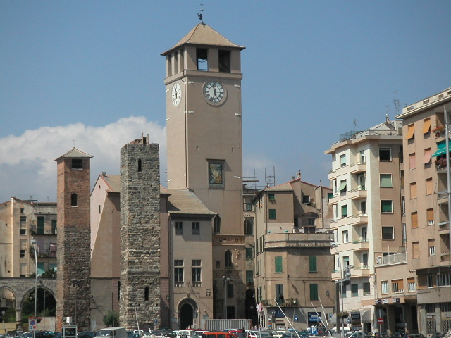 Savona - torri medioevali