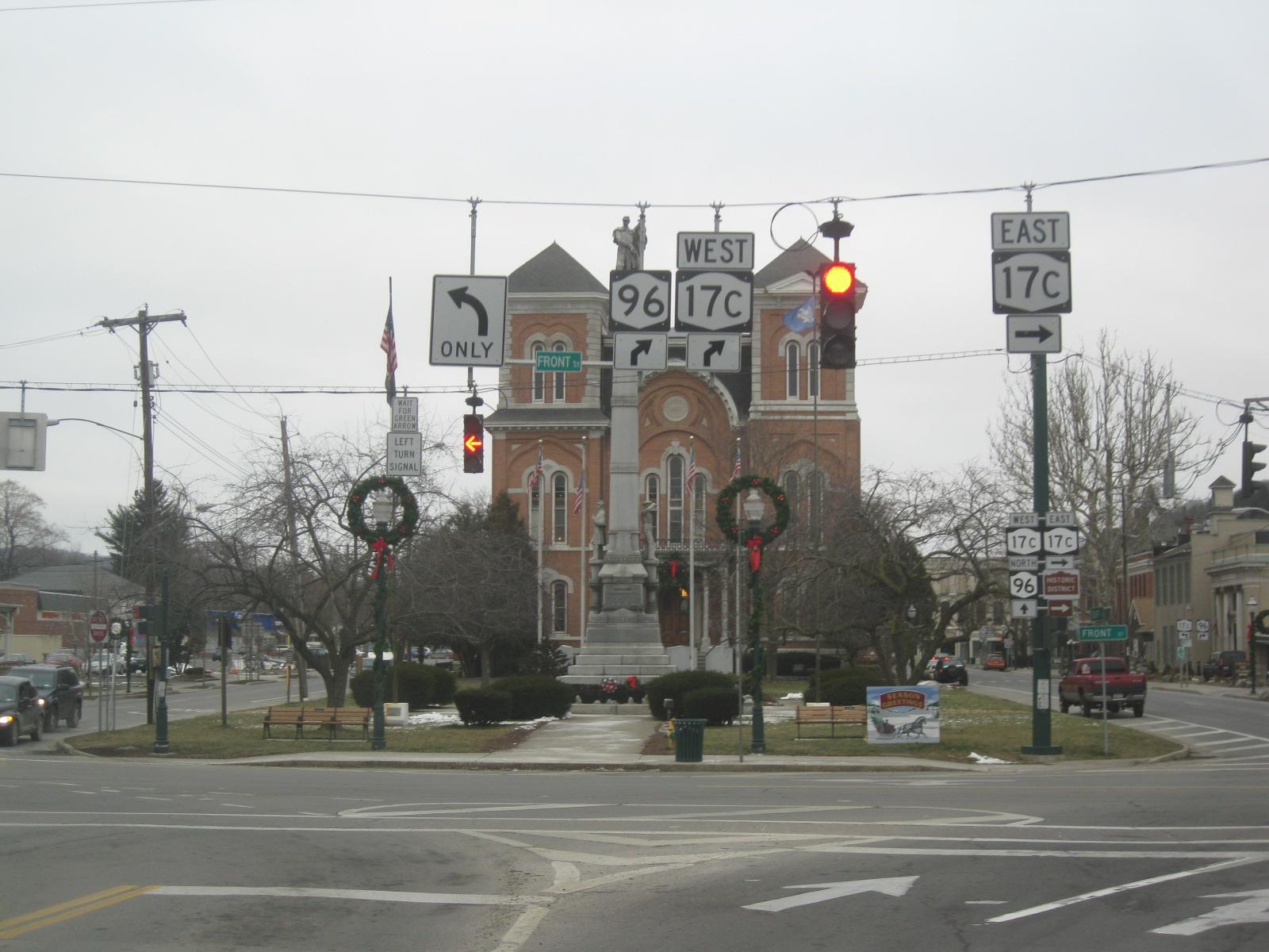 Owego County Building Owego Ny
