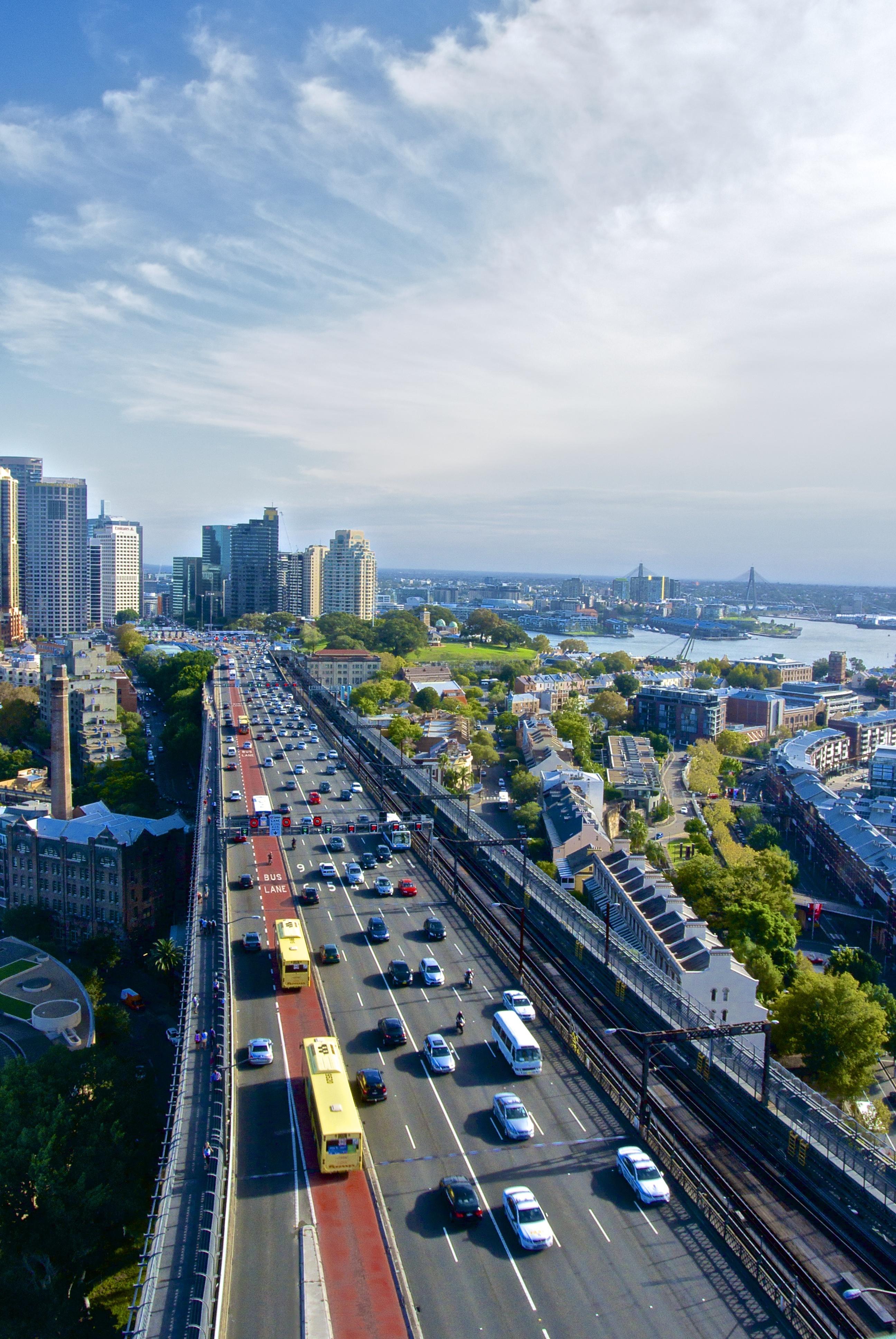Sydney Harbour Bridge Bradfield Highway.jpg