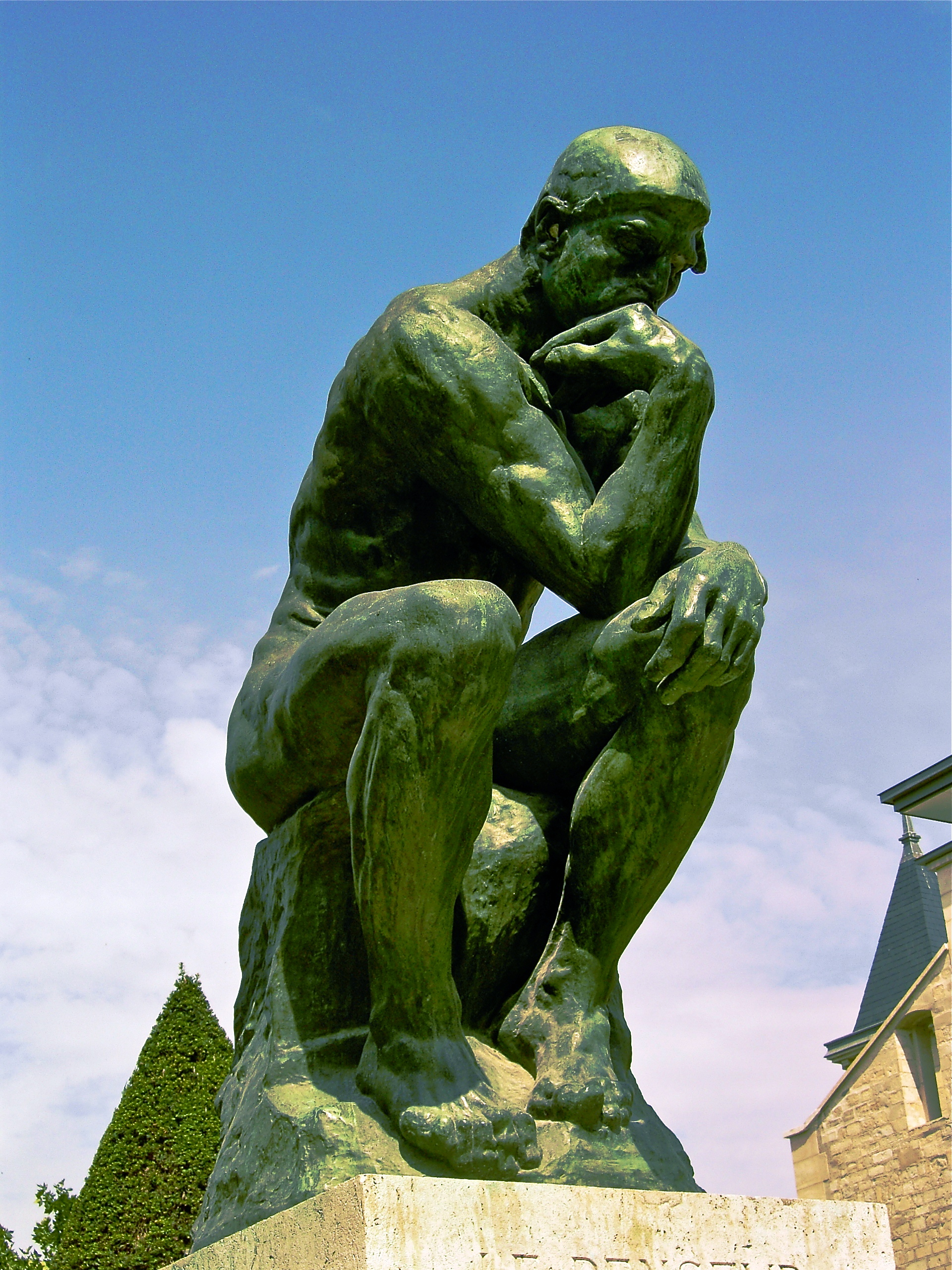 The Thinker Rodin Wikipedia Free Encyclopedia