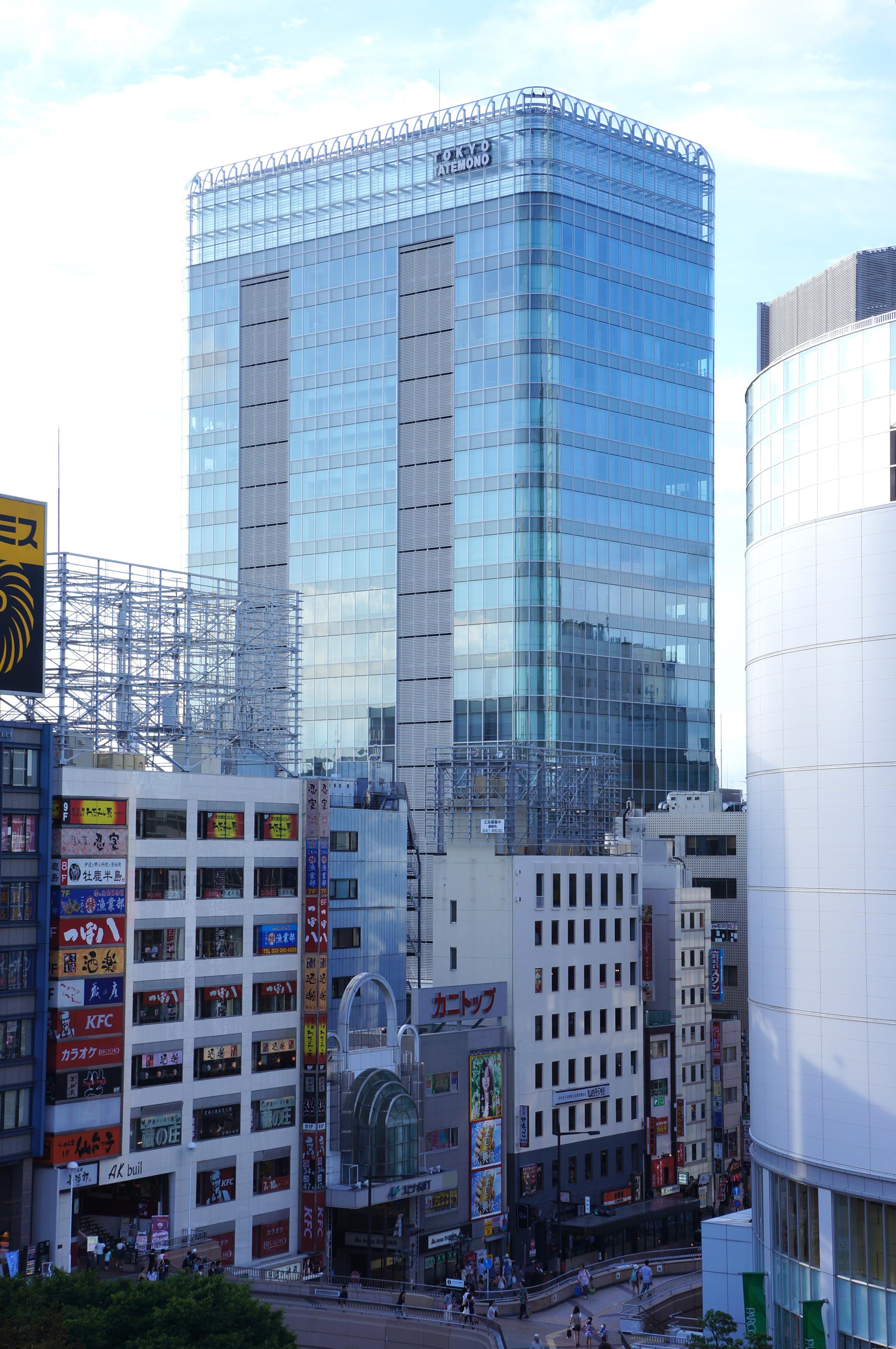 東京建物仙台ビル. TokyoTatemono,Sendai