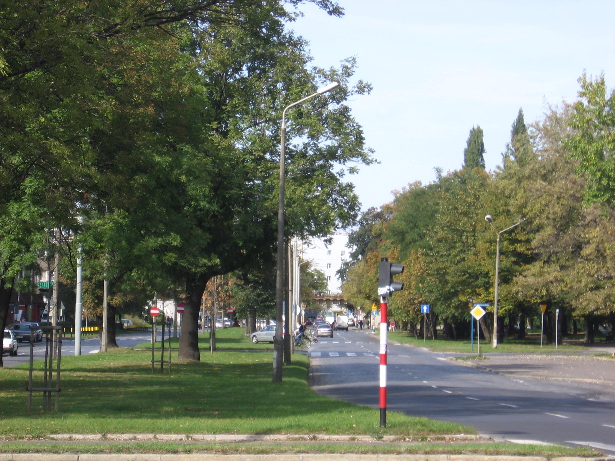 Ulica Zaporoska we Wrocławiu