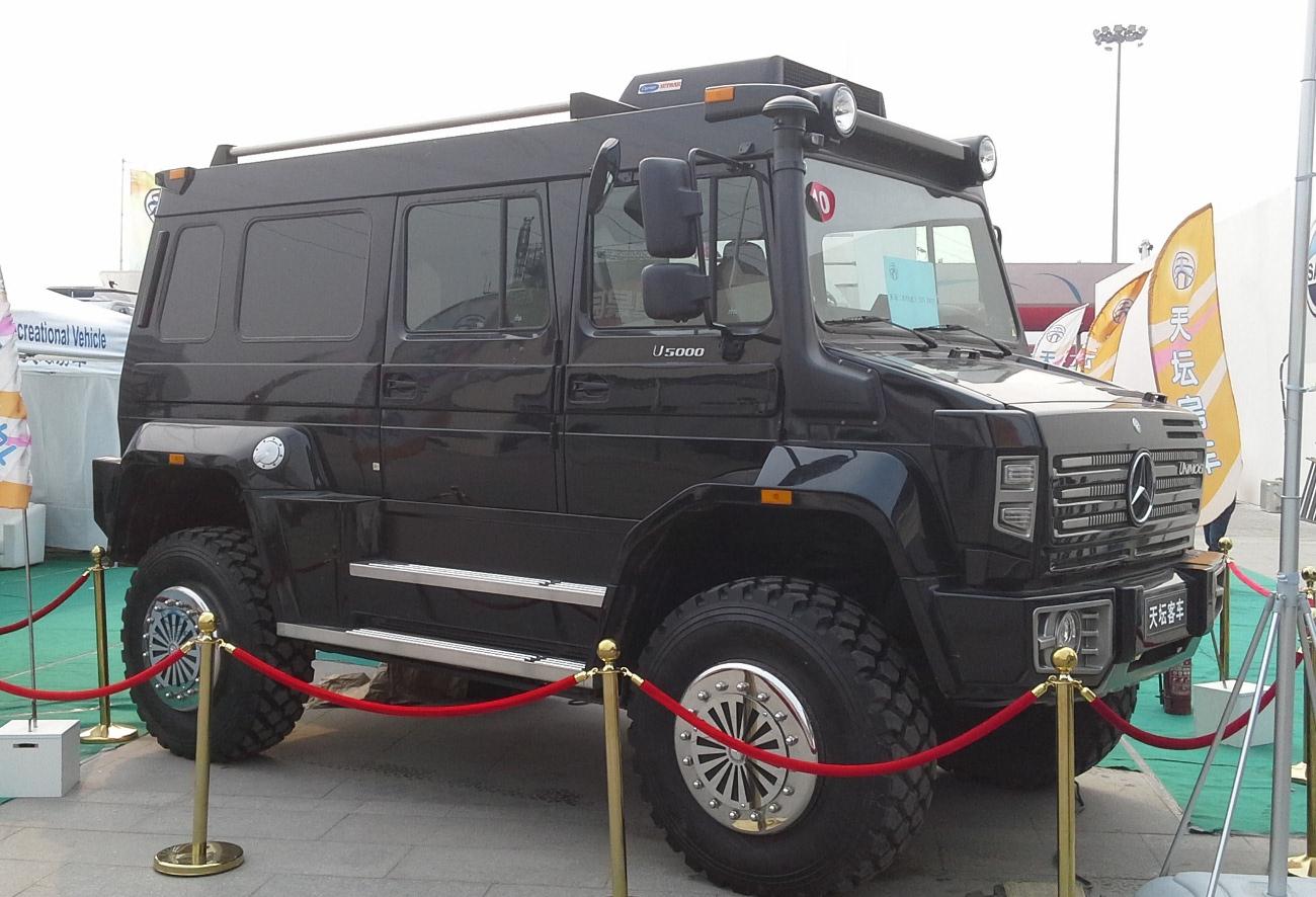 File:Unimog U5000 Auto China 2014-04-23.jpg - Wikimedia ...