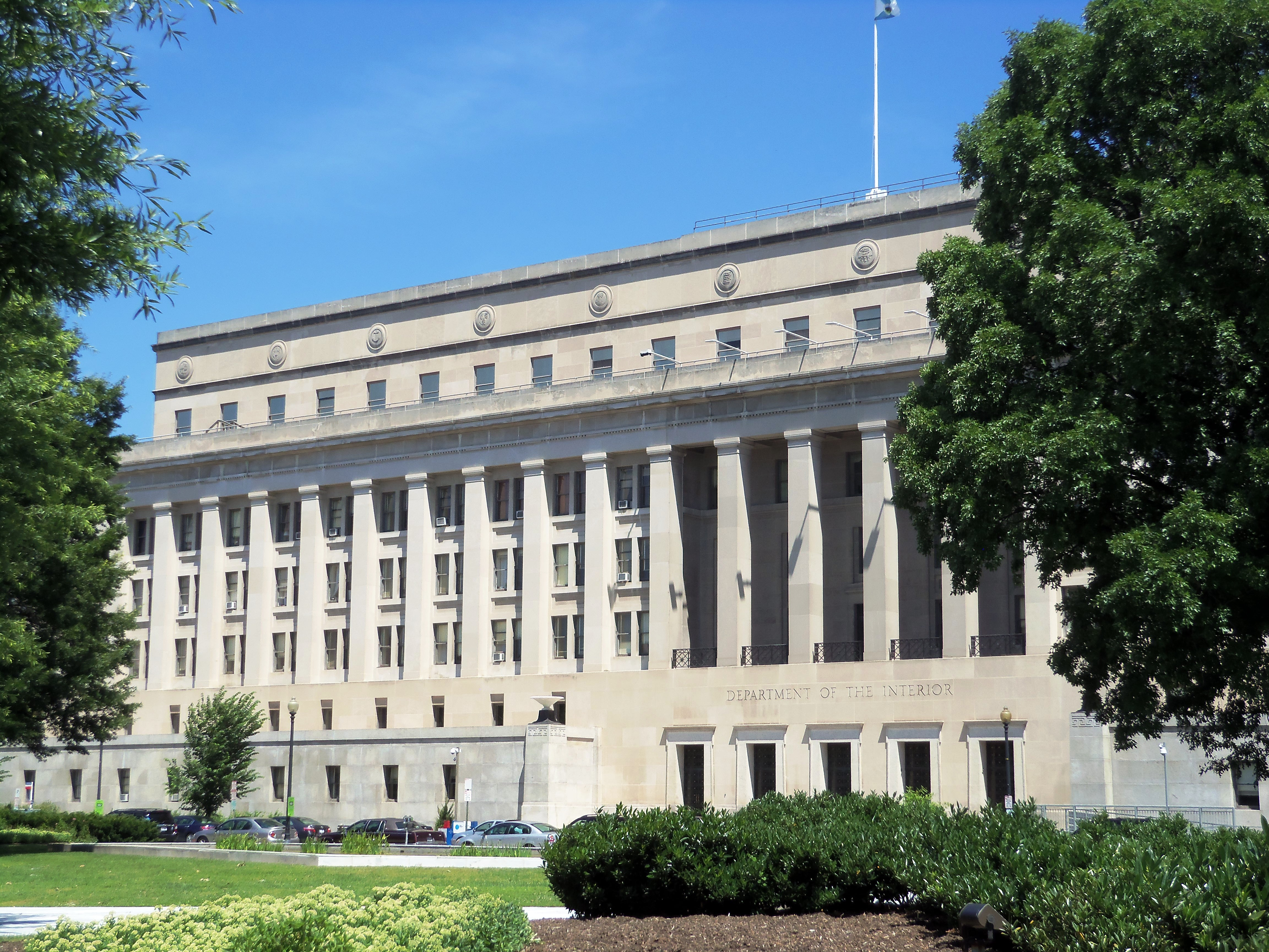File United States Department Of The Interior Building Jpg Wikimedia Commons