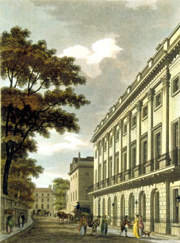 Uxbridge House in Mayfair in 1801