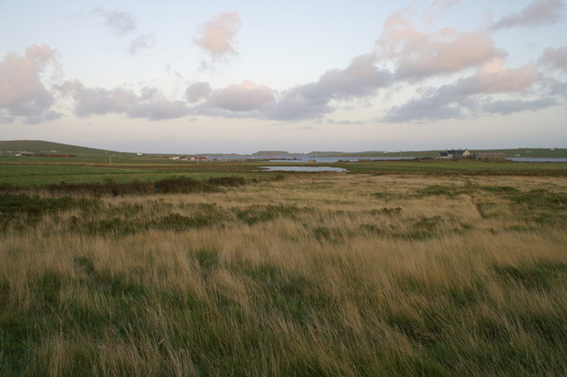 File:View towards Loch of Buness from Halligarth - geograph.org.uk - 1490532.jpg
