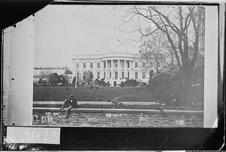 File White House Washington D C 1861 1865 Nara